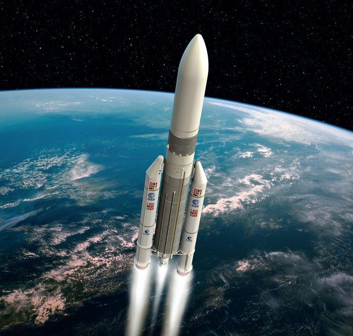 Ariane5 en vole