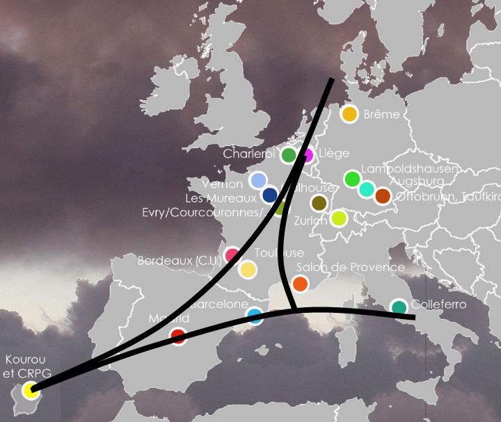 Europaeische Zusammenarbeit beim Bau der Raumsonde Ariane